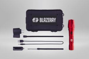 Blazeray 1000 Lumens LED Tactical Flashlight