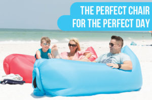 pouch couch inflatable air bed