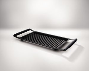 Philips indoor smokeless grill in black
