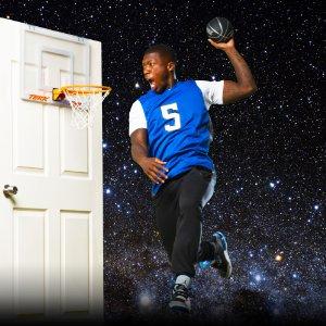 nate robinson mini basketball hoop