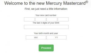mercury mastercard activation