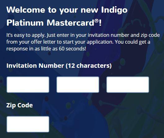 www.indigoapply.com - Pre-approved for Indigo Platinum???