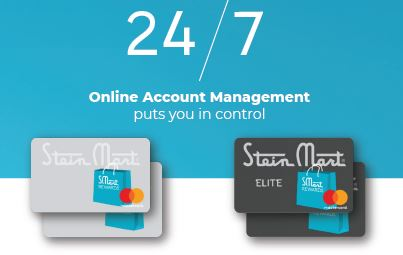 steinmartcredit.com login