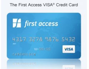 pay first access card bill