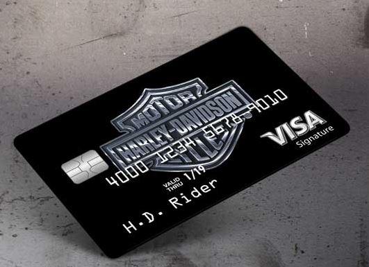 harley davidson credit card