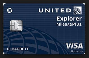 united explorer card invitation number
