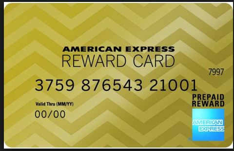 american express reward card activation