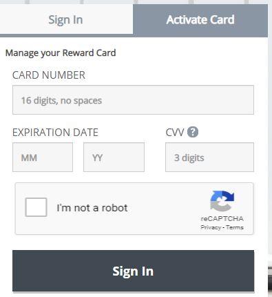 www.yourrewardcard.com