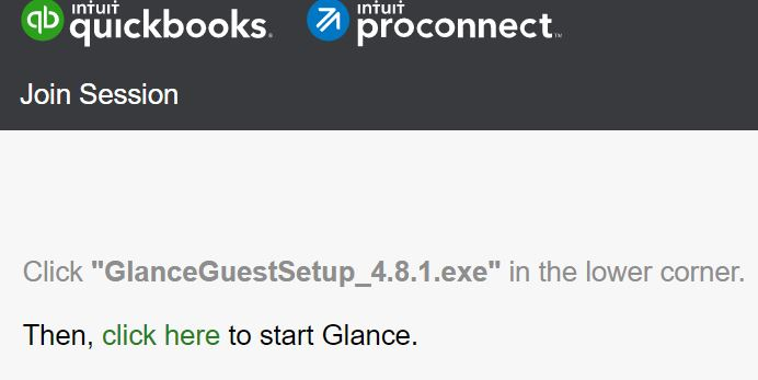 www.glance.intuit.com