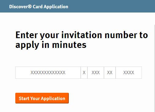 www.discover.com/itcard invitation code