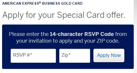 www.amex.us/getbusinessgold rsvp code