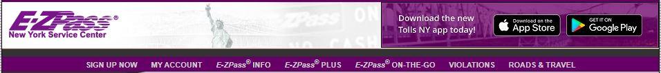 www.e-zpass.com/paytoll