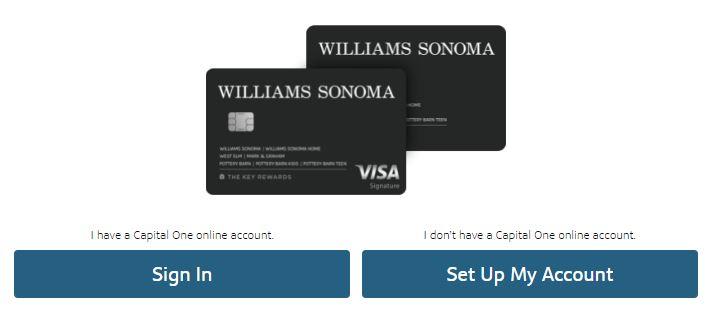 www.williams-sonoma.capitalone.com activate